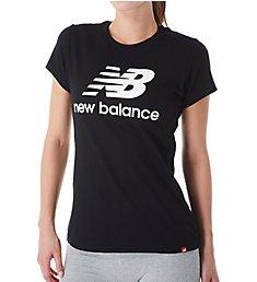 New Balance Essentials Stacked Logo Crew Neck Short Sleeve Tee WT91546