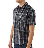 O'Neill Emporium Plaid Short Sleeve Woven Shirt 6104000