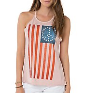 O'Neill Peace Flag Screen Print Tank 6423007