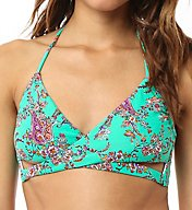 O'Neill Bardot Halter Wrap Swim Top 6474094