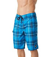 O'Neill Santa Cruz Plaid Quick Dry 21 Inch Boardshort 7106031