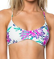 O'Neill Moon Struck Lace Up Back Swim Top 7474025