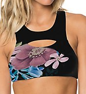 O'Neill Hybrid Vista High Neck Swim Top 7475027