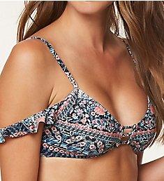 O'Neill Porter Off The Shoulder Bikini Swim Top 8474028