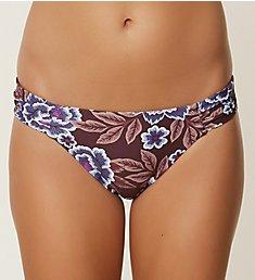 O'Neill Hybrid Casey Shirred Tab Side Bikini Swim Bottom 8478011