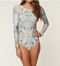 O'Neill Hybrid Seraphina Long Sleeve One Piece Swimsuit 8478012
