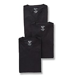 Original Penguin Slim Fit 100% Cotton V-Neck Shirt - 3 Pack RPM8802