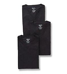 Original Penguin Slim Fit 100% Cotton V-Neck Shirt - 3 Pack RPM8802