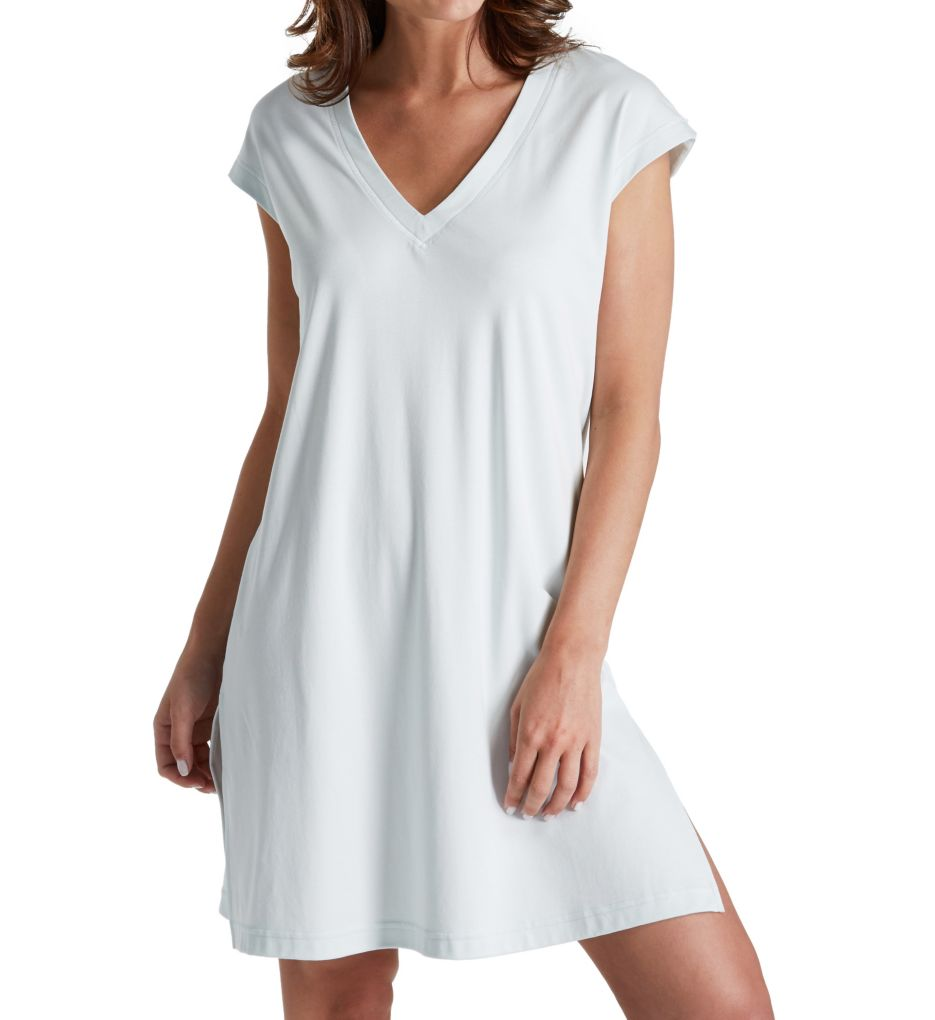 P-Jamas Butterknits V-Neck Cap Sleeve Nightgown 327660