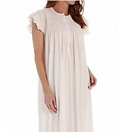 P-Jamas Daisy Smocked Cap Sleeve Nightgown Daisy