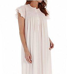 P-Jamas Daisy Smocked Cap Sleeve Nightgown Daisy