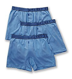 Perry Ellis Conformity Cotton Stretch Boxer Briefs - 3 Pack 208001