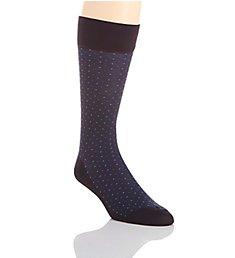 Perry Ellis Microfiber Luxury Small Dot Sock 839679