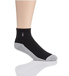 Polo Ralph Lauren Golf Classic Cotton Stretch Cushioned Quarter Sock 80100PG