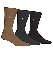 Polo Ralph Lauren Casual Dress Ribbed Socks 3-Pack 8092