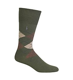 Polo Ralph Lauren Five Diamond Argyle Cotton Sock 8116