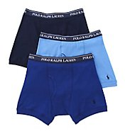 Polo Ralph Lauren Classic Fit 100% Cotton Boxer Briefs - 3 Pack LCBB
