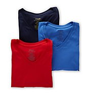 Polo Ralph Lauren Classic Fit 100% Cotton V-Neck Shirts - 3 Pack LCVNH3