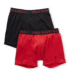 Polo Ralph Lauren Cotton Comfort Blend Boxer Briefs - 2 Pack LPB2P2