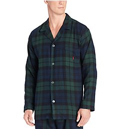 Polo Ralph Lauren Flannel Long Sleeve Pajama Top P656