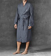 Polo Ralph Lauren Birdseye 100% Cotton Woven Robe R171