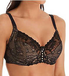 Pour Moi Sophia Lace Embroidered Side Support Bra 3827