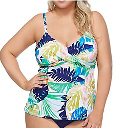 Raisins Curve Palm Springs Aries Tankini Swim Top D840840