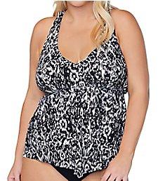 Raisins Curve Plus Size Incas Trinidad Tankini Swim Top E840721