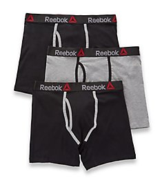 Reebok Stretch Boxer Briefs - 3 Pack 163PB05