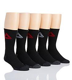 Reebok Logo Multi-Sport Crew Socks - 5 Pack 181CR03