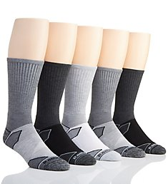Reebok Multi-Sport Geo Crew Socks - 5 Pack 183CR04