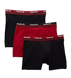 Reebok Cotton Boxer Briefs - 3 Pack 183PB04