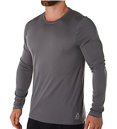 Reebok Long Sleeve Crew Neck T-Shirt 193LT06