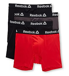 Reebok Core Performance Boxer Briefs - 4 Pack 193PB43
