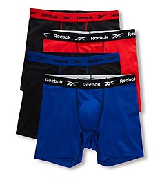 Reebok Core Performance Boxer Briefs - 4 Pack 201PB43