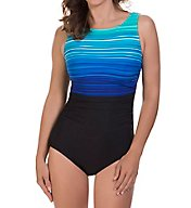 Reebok Desert Rays High Neck One Piece Swimsuit 780506
