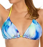 Reebok Watercolor Taylor Reversible Triangle Swim Top 871586