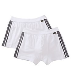 Schiesser Cotton Stretch Shorts - 2 Pack 035111