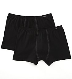 Schiesser Cotton Stretch Shorts - 2 Pack 205222