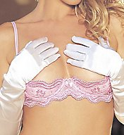 Shirley of Hollywood Scalloped Embroidery Shelf Bra 331