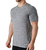 Skechers Melange Short Sleeve Raglan Crew T-Shirt SKM-0281