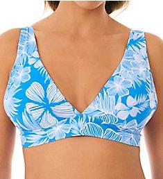 Skinny Dippers Kaanapali Smoothie Wide Shoulder Swim Top 6529176