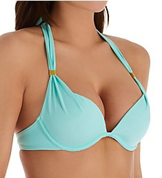Smart and Sexy Swim Secret The Hottie Halter Bikini Swim Top SA1005