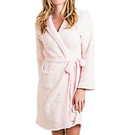 Softies by Paddi Murphy Striped Marshmallow Hoodie Robe 9300