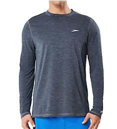 Speedo Space Dye Long Sleeve Swim Tee 7748033