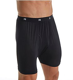 Stacy Adams Moisture Wicking ComfortBlend Boxer Brief SA1800