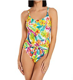 Sunsets Tropical Adventure Tide Pool One Piece Swimsuit 129TA