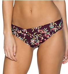 Sunsets Rosewood Vines Twist and Shout Brief Swim Bottom 14BRV