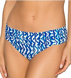 Sunsets Aquarius Unforgettable Shirred Brief Swim Bottom 27BAQ