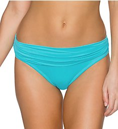 Sunsets Aqua Sky Unforgettable Fold Brief Swim Bottom 27BAS